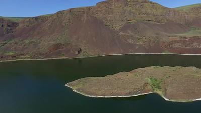 4 Islands near South end of Lorene Lake