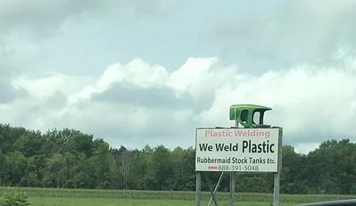 They weld plastic?