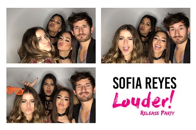 Sofia Reyes Louder Release Party Prints