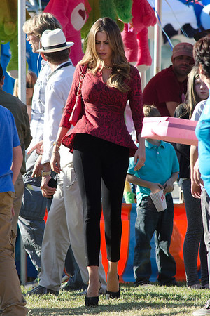 Sofia Vergara Films Modern Family