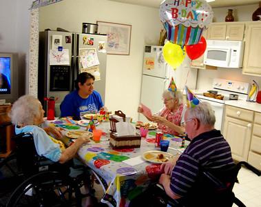Livia's 99th Birthday