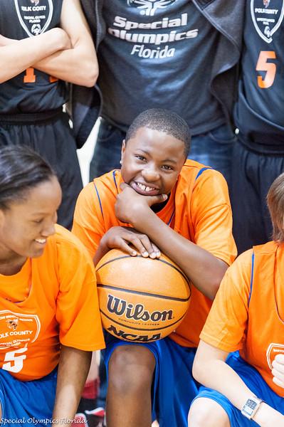 Polk County Special Olympics Basketball