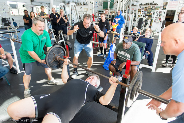 Special Olympics Polk County Powerlifting Competition