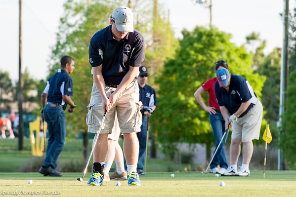Polk County Special Olympics Golf Clinic