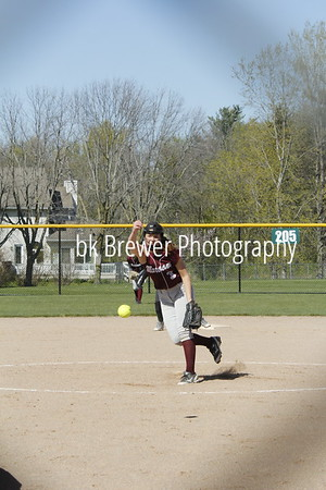 HCHS jv softball vs Comstock Park
