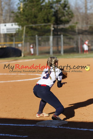 3/16/18 Providence Grove vs Wheatmore softball