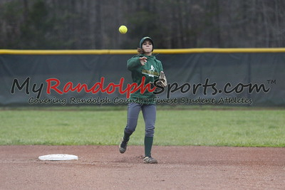 3/20/18 Eastern Randolph vs Wheatmore softball
