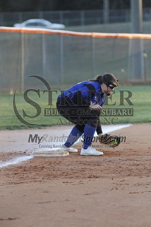 3/2/18 Randleman vs Asheboro softball