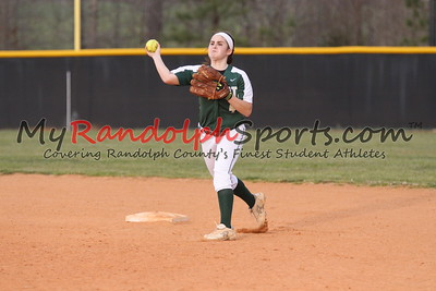 3/29/18 Providence Grove vs Eastern Randolph softball