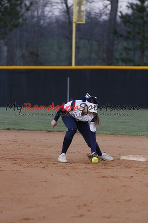 3/9/17 Providence Grove vs Randleman softball