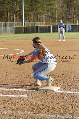 4/10/18 Trinity vs Wheatmore softball