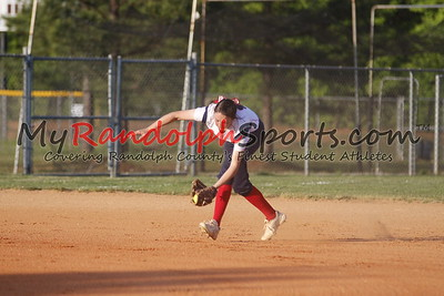 5/9/18 Providence Grove vs Goldsboro softball