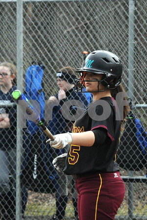 NBHS SOFTBALL VS BOLTON 4-13-18