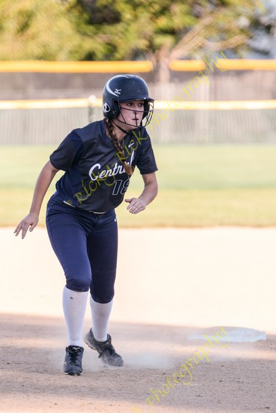 Francis Howell Central defeats Fort Zumwalt North in the 1st round of district softball play on 10/5/16