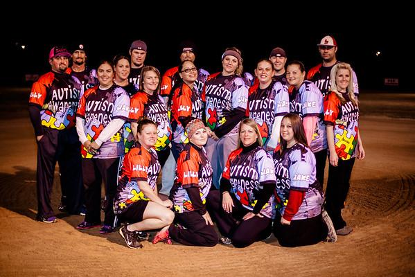 Autism Awareness Softball Team
