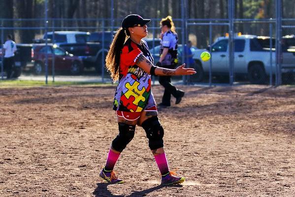 Softball, Jacksonville, AR, March 5, 2016