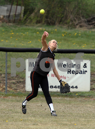 2012 Port Allegany Girls Softball @ Northern Potter