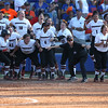 during the Gators' game against the Georgia Bulldogs in an NCAA Super Regional on Friday, May 27, 2016 at Katie Seashole Pressly Softball Stadium in Gainesville, FL / UAA Communications photo by Madison Schultz