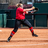 Georgia starting pitcher/relief pitcher Brittany Gray (18) during the Bulldogs' game against Dayton at Jack Turner Field in Athens, Ga., on Sunday, Feb. 19, 2017. (John Paul Van Wert)