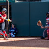 Georgia outfielder Sydni Emanuel (6) during the Bulldogs' game against Dayton at Jack Turner Field in Athens, Ga., on Sunday, Feb. 19, 2017. (John Paul Van Wert)