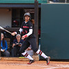 Georgia outfielder Sydni Emanuel (6) during the Bulldogs' game against Dayton at Jack Turner Stadium in Athens, Ga., on Saturday, February 18, 2017. (Photo by Cory A. Cole)