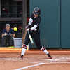 Georgia outfielder Maeve McGuire (17) during the Bulldogs' game against Dayton at Jack Turner Stadium in Athens, Ga., on Saturday, February 18, 2017. (Photo by Cory A. Cole)