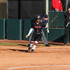 Georgia outfielder Cortni Emanuel (1) during the Bulldogs' game against Dayton at Jack Turner Stadium in Athens, Ga., on Saturday, February 18, 2017. (Photo by Cory A. Cole)