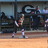 Georgia outfielder Tyra Holliday (22) during the Bulldogs' game against Dayton at Jack Turner Stadium in Athens, Ga., on Saturday, February 18, 2017. (Photo by Cory A. Cole)