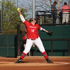 Georgia pitcher Brittany Gray (18) during the Bulldogs' game against Georgia Southern at Jack Turner Stadium in Athens, Ga. on Wednesday, March 29, 2017. (Photo by Cory A. Cole)