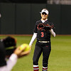 Georgia outfielder Kendall Burton (3) during the Bulldogs' game against Louisiana-Monroe at Jack Turner Stadium in Athens, Ga., on Saturday, February 18, 2017. (Photo by Cory A. Cole)