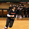 Georgia infielder Alyssa DiCarlo (8) during the Bulldogs' game against Louisiana-Monroe at Jack Turner Stadium in Athens, Ga., on Saturday, February 18, 2017. (Photo by Cory A. Cole)
