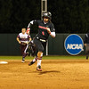 Georgia outfielder Sydni Emanuel (6) during the Bulldogs' game against Louisiana-Monroe at Jack Turner Stadium in Athens, Ga., on Saturday, February 18, 2017. (Photo by Cory A. Cole)