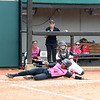 Georgia's Ciara Bryan at the softball game against South Carolina on April 29, 2017. (Photo by Caitlyn Tam)