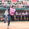 Georgia's Brea Dickey at the softball game against South Carolina on April 29, 2017. (Photo by Caitlyn Tam)