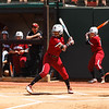 South Carolina outfielder Tiara Duffy (18) during the Bulldogs' game against South Carolina at Jack Turner Stadium in Athens, Ga. on Sunday, April 30, 2017. (Photo by Cory A. Cole)