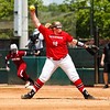 Georgia pitcher Brittany Gray (18) during the Bulldogs' game against South Carolina at Jack Turner Stadium in Athens, Ga. on Sunday, April 30, 2017. (Photo by Cory A. Cole)