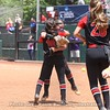 Kylie Bass and Jordan Doggett celebrate the win