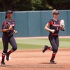 Ciara Bryan & Kendall Burton  - UGA vs. Mercer - April 14, 2018