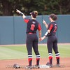 Alyssa DiCarlo & Justice Milz  - UGA vs. Mercer - April 14, 2018
