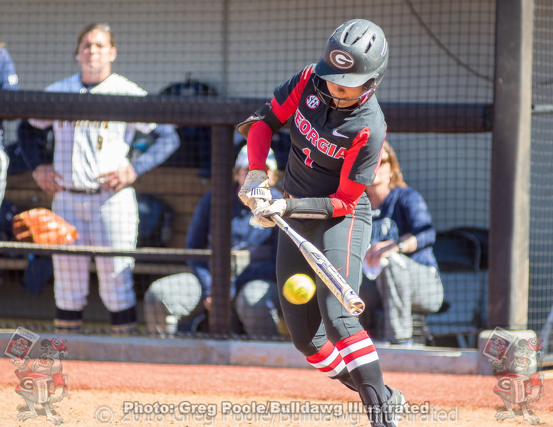 Cortni Emanuel – UGA vs. UNCG – March 3, 2018