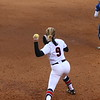 Georgia infielder Alysen Febrey (9) during the Bulldogs' game against Georgia Southern at Jack Turner Stadium in Athens, Ga. on Wednesday, March 21, 2018. (Photo by Steffenie Burns)