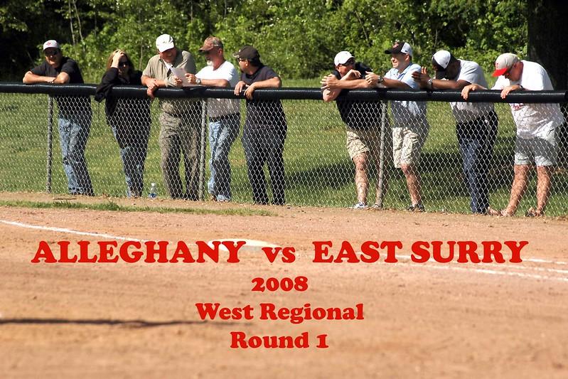 Alleghany vs East Surry, round 1 2008