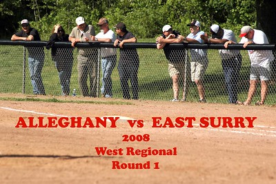 Alleghany vs East Surry, round 1 2008