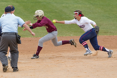 CHS vs MHS WDA softball 2015