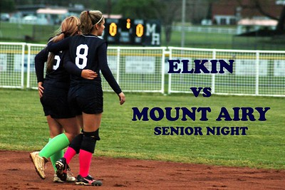 ELKIN vs MOUNT AIRY, 04/22/08 Plus.. 2008 NW Conference Tournament Semi-Final