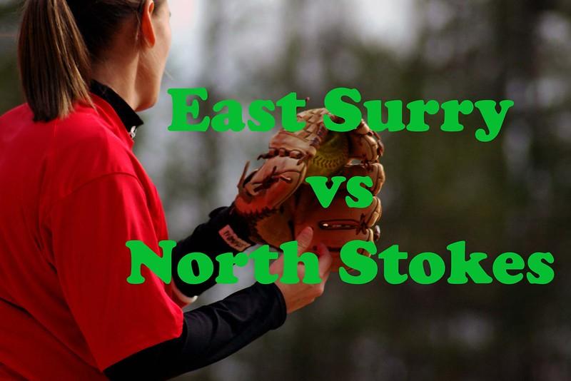 East Surry vs North Stokes, varsity & jv,  03/11/08