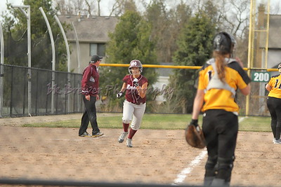 HCHS varsity softball vs Hamilton