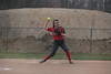 HL's 2B Brook Breidenbach (7) fields a grounder and throws the runner out at first.