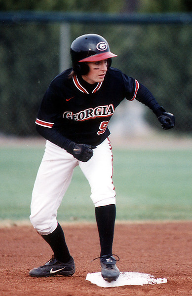 Nicole Barber, UGA Softball 2001-2004 (Photo from Georgia Sports Communication)