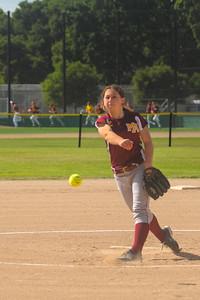 Menlo-Atherton High School Varsity Softball vs. Jefferson High, April 28, 2015